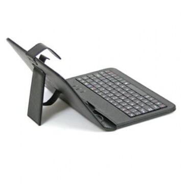 Omega Oct7Kb Tablet Védőtok 7 Billentyűzetes Fekete