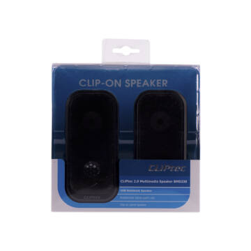 Cliptec Clip-On Hangszoró Notebook Bms330