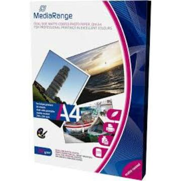 MEDIARANGE MRINK112- PAPER A4 INK DUAL-MATT 250G,(50)