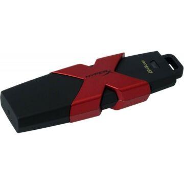 Kingston HyperX Savage 64GB Pendrive USB 3.1/3.0 (350R/180W) (HXS3/64GB)