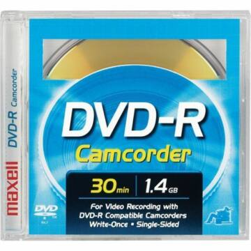 Maxell DVD Ram Vcam 30 Min 1,4GB Lemez (1)