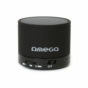 Omega Hangszoró Og47B Alu Bluetooth V3.0 Fekete [42643]