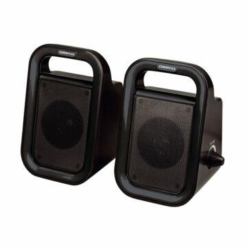Omega Hangszoró Og-119B Fekete 2X3W Rms USB [43091]