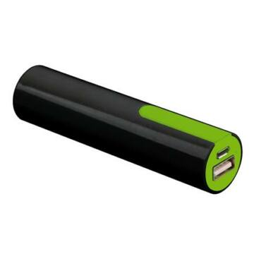 Platinet Power Bank 2000mAh Fekete/Zöld + Micro USB Cable [43169]