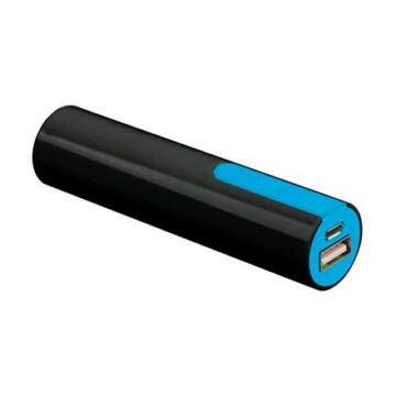 Platinet Power Bank 2000mAh Fekete/Kék + Micro USB Cable [43170