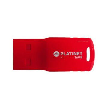 Platinet F-Depo 16GB Pendrive USB 2.0 - Piros