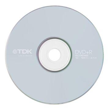 TDK DVD+R 4,7GB 16X Lemez - Papírtokban (10)