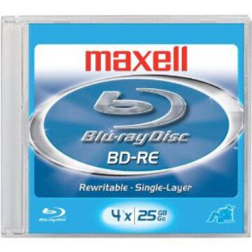 MAXELL BLU-RAY  BD-RE 4X 25 GB normál tokban