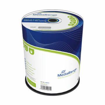 Mediarange DVD-R 16X 4,7 GB Lemez - Cake (100)