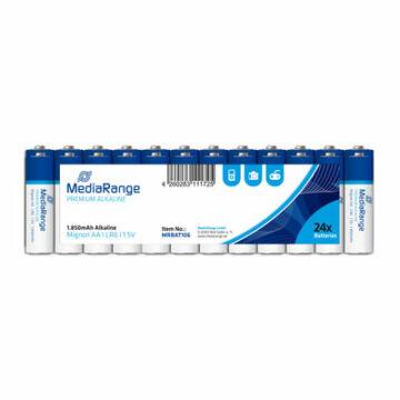 Mediarange Alkaline AA Lr06 Premium (24Db)