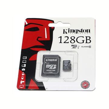 KINGSTON MICRO SD 128 GB UHS-I U1 45/10 +1 AD.