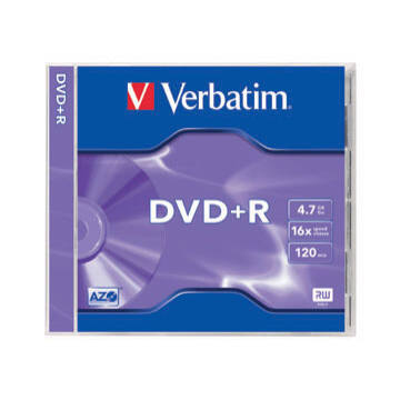 Verbatim DVD+R 16X Jwc Lemez - Normál Tokban (1)