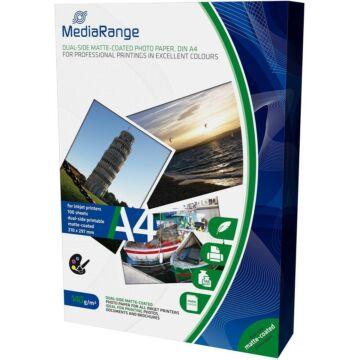 MEDIARANGE MRINK111- PAPER A4 INK DUAL-MATT 140G,(100)
