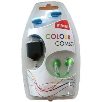MAXELL COLOUR COMBO PACK kék-zöld