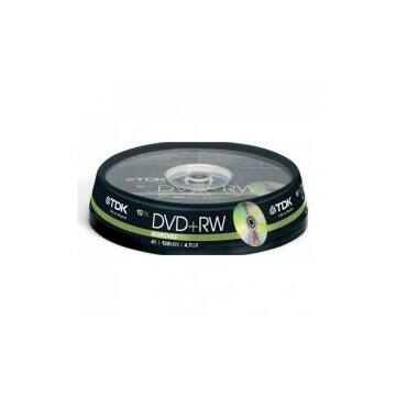 TDK DVD+RW 4,7GB 4X Lemez - Cake (10)