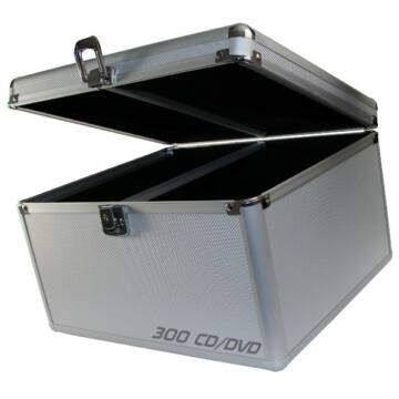 MediaRange Dj Box 300 db-os Ezüst