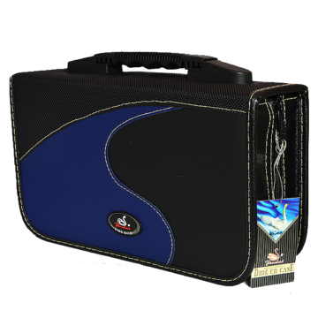 CD-DVD Táska 128 db-os Kék (JD-02128)