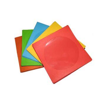 CD - DVD Papírtok Színes (100)