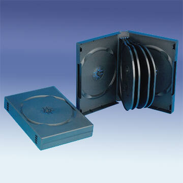 DVD tok 10 db-os fekete, 33mm gerinc