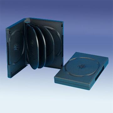 DVD Tok 8 db-os Fekete, 22mm Gerinc