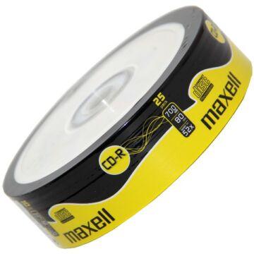 Maxell CD-R 52X Lemez - Shrink (25)