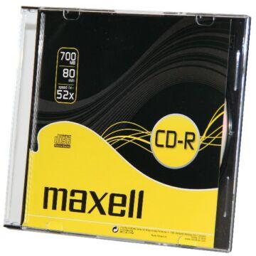 Maxell CD-R 52x lemez slim Tokban (10)