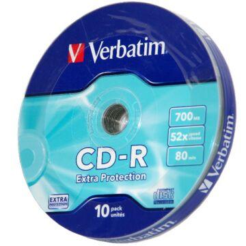 Verbatim CD-R Lemez - Shrink (10)