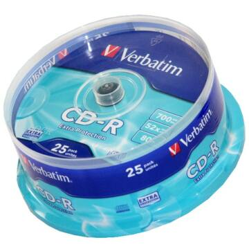 Verbatim CD-R 52X Lemez - Cake (25)
