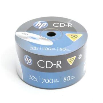 HP CD-R 52x lemez, Shrink (50)