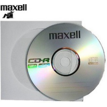 Maxell CD-R 52x papírtokos lemez (10)