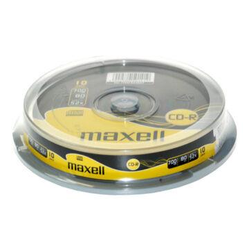 Maxell CD-R 52X Lemez - Cake (10)