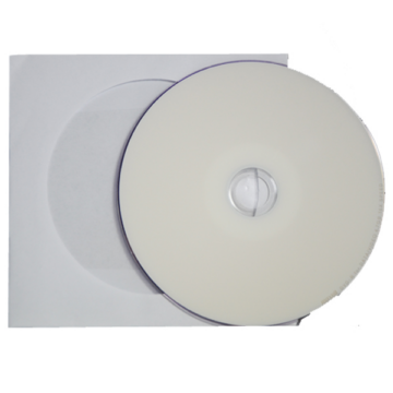Maxell CD-R 52X Nyomtatható Lemez - Papírtokban (10)