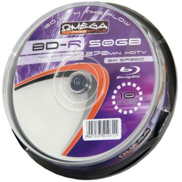 Freestyle 50 GB 6x Nyomtatható Blu-Ray lemez, cake (10)
