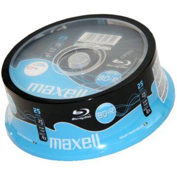 Maxell BD-R 25 gB 4X Nyomtatható Blu-Ray Lemez - Cake (25)