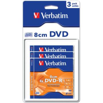 Verbatim DVD-R 4X 8 cm Lemez - Normál Tokban (3)