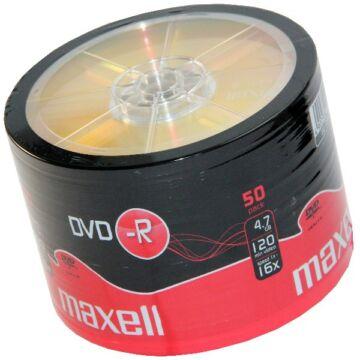 Maxell DVD-R 16x lemez, Shrink (50)