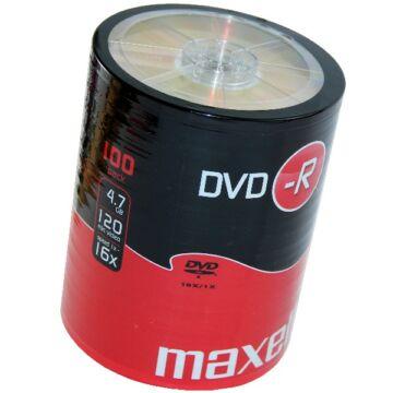 Maxell DVD-R 16X Lemez - Shrink (100)