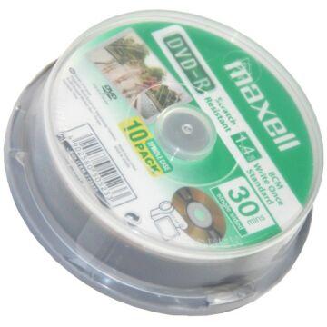 Maxell DVD-R 8 cm 1,4GB Video Kamera Lemez - Cake (10)