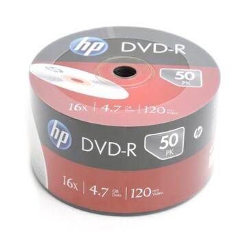 HP DVD-R 16X Lemez - Shrink (50)