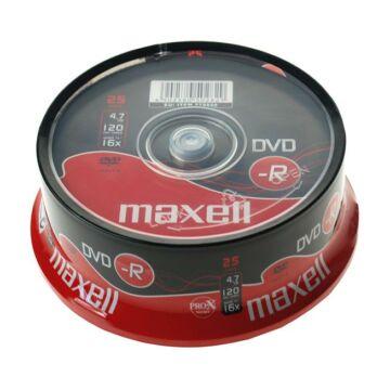 Maxell DVD-R 16X Lemez - Cake (25)