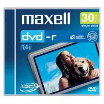 Maxell DVD-R 1,4 GB 4x 8cm lemez, slim Tokban (3)