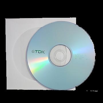 TDK DVD-R 16x papírtokos lemez (10)