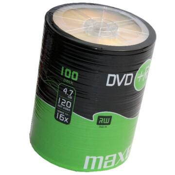 Maxell DVD+R 16X Lemez - Shrink (100)