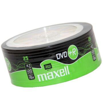 Maxell DVD+R 16X Lemez - Shrink (25)