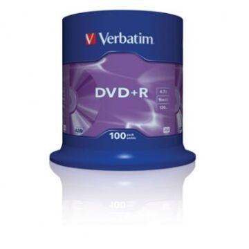 Verbatim DVD+R 16X Lemez - Cake (100)