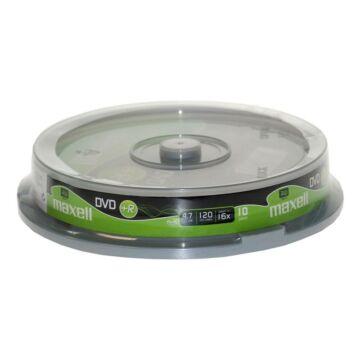 Maxell DVD+R 16x lemez, cake (10)