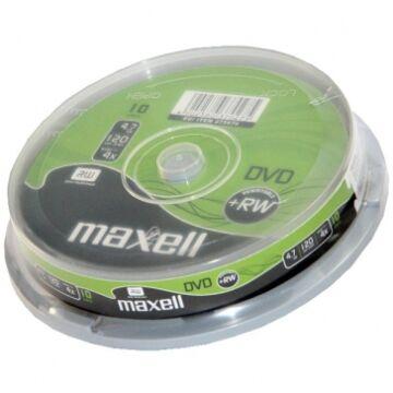 Maxell DVD+RW 4x lemez, cake (10) Repack!!