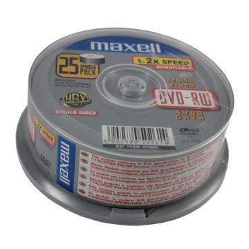 Maxell DVD-RW 2X Lemez - Cake (25)