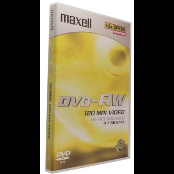 Maxell DVD-RW 2X Lemez - DVD Tokban (1)