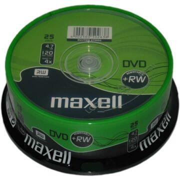 Maxell DVD+RW 4X Lemez - Cake (25) Repack